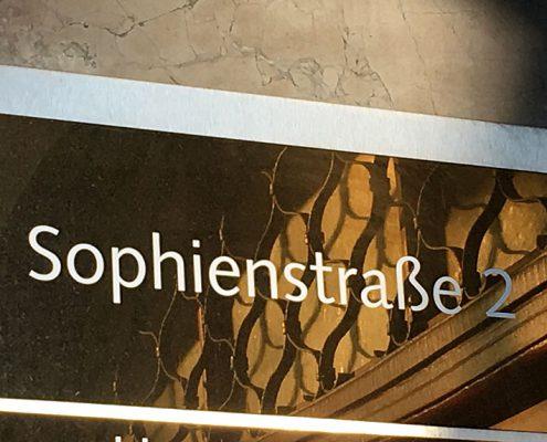 Das neue Büro von ACTRANS in der Sophienstraße 2 in München
